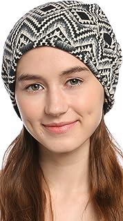 e376242acd6 Ababalaya Unisex Men Women Soft 2-Way Winter Warm Knitted Wool Slouchy  Beanie Skull Cap