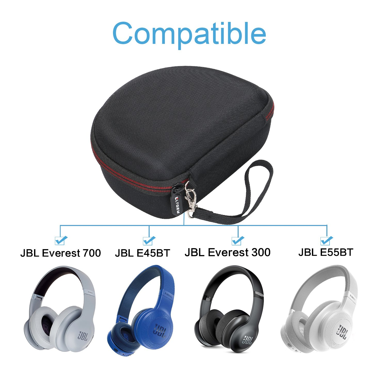 LTGEM EVA - Carcasa Rígida para Auriculares inalámbricos JBL Everest 700/300, E45BT, E55BT: Amazon.es: Electrónica