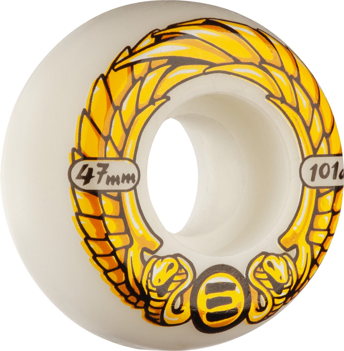 RollerBones Eulogy Inline Wheel Anti Rocker (47mm, 101A, 4pk)