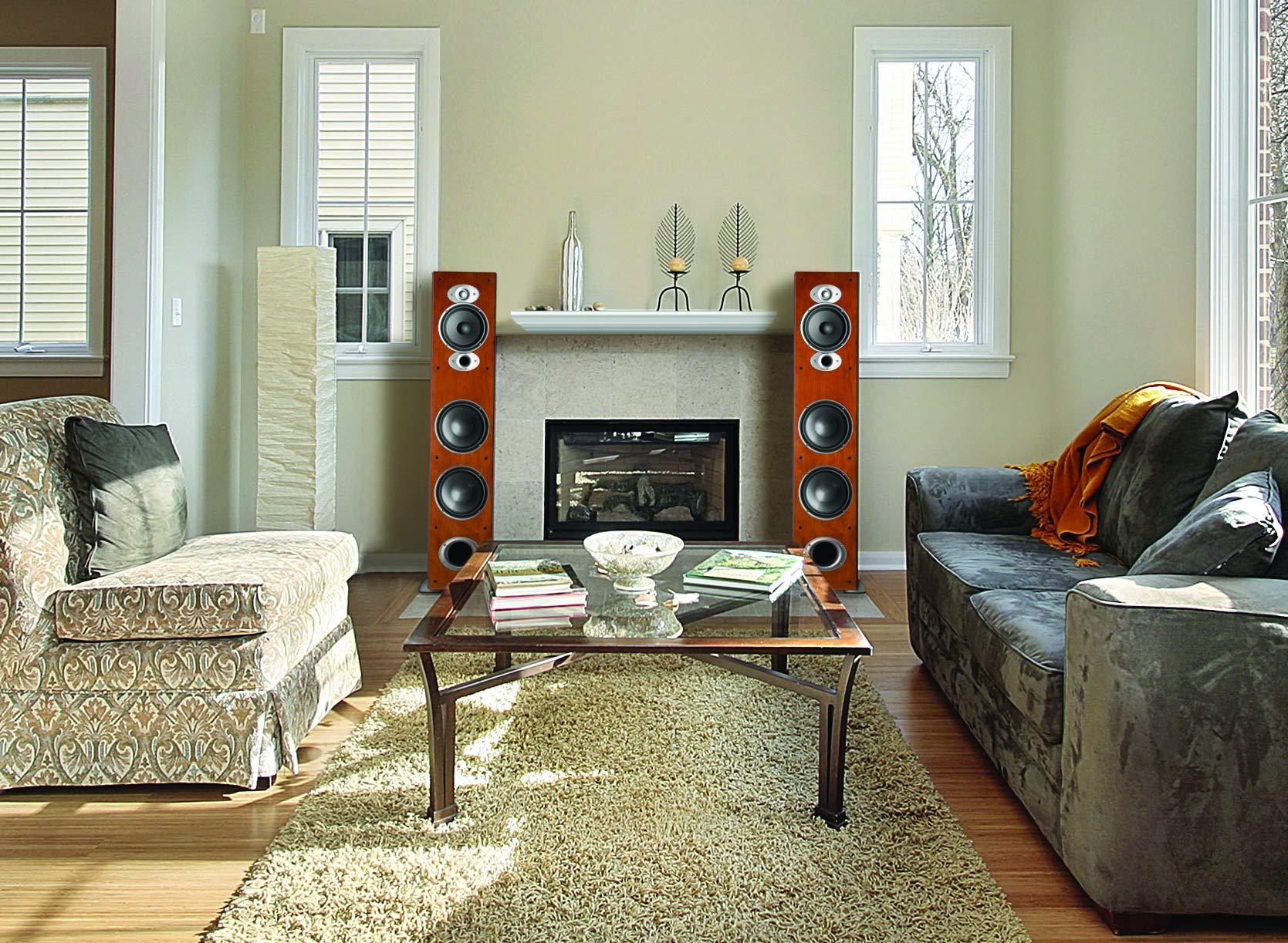 Polk Audio RTI A7 Floorstanding Speaker (Single, Cherry) by Polk Audio