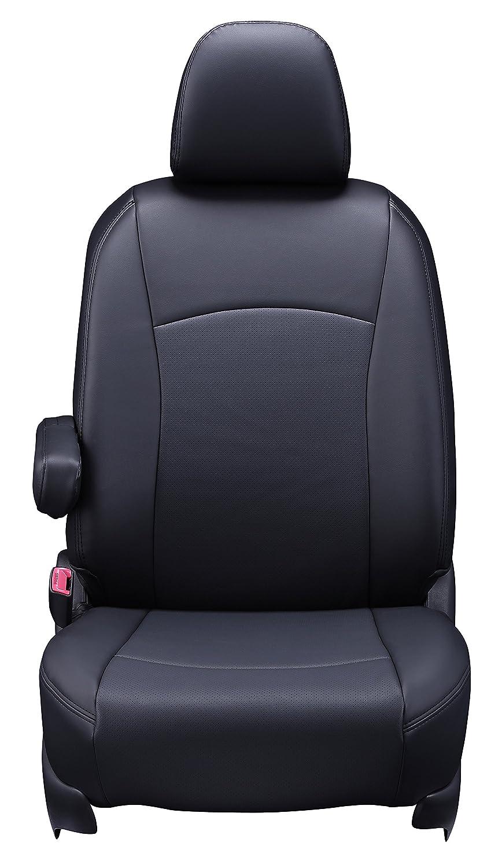 クラッツィオ シートカバー アルファード/ヴェルファイア AGH30W/AGH35W/GGH30W/GGH35W H30/1~7人乗り ジュニア ブラック ET-1650 B07BH63RX3