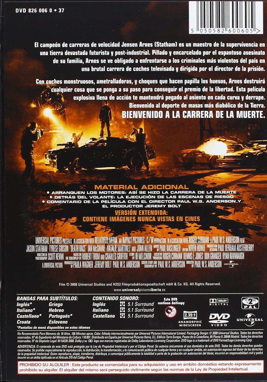 Death Race (Pack Trilogía) [DVD]: Amazon.es: Jason Statham, Joan ...