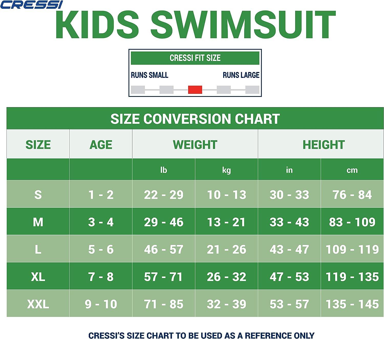 Cressi Shorty Kid Unisex Swimming Neoprenanzug f/ür Kinder 1.5//2mm