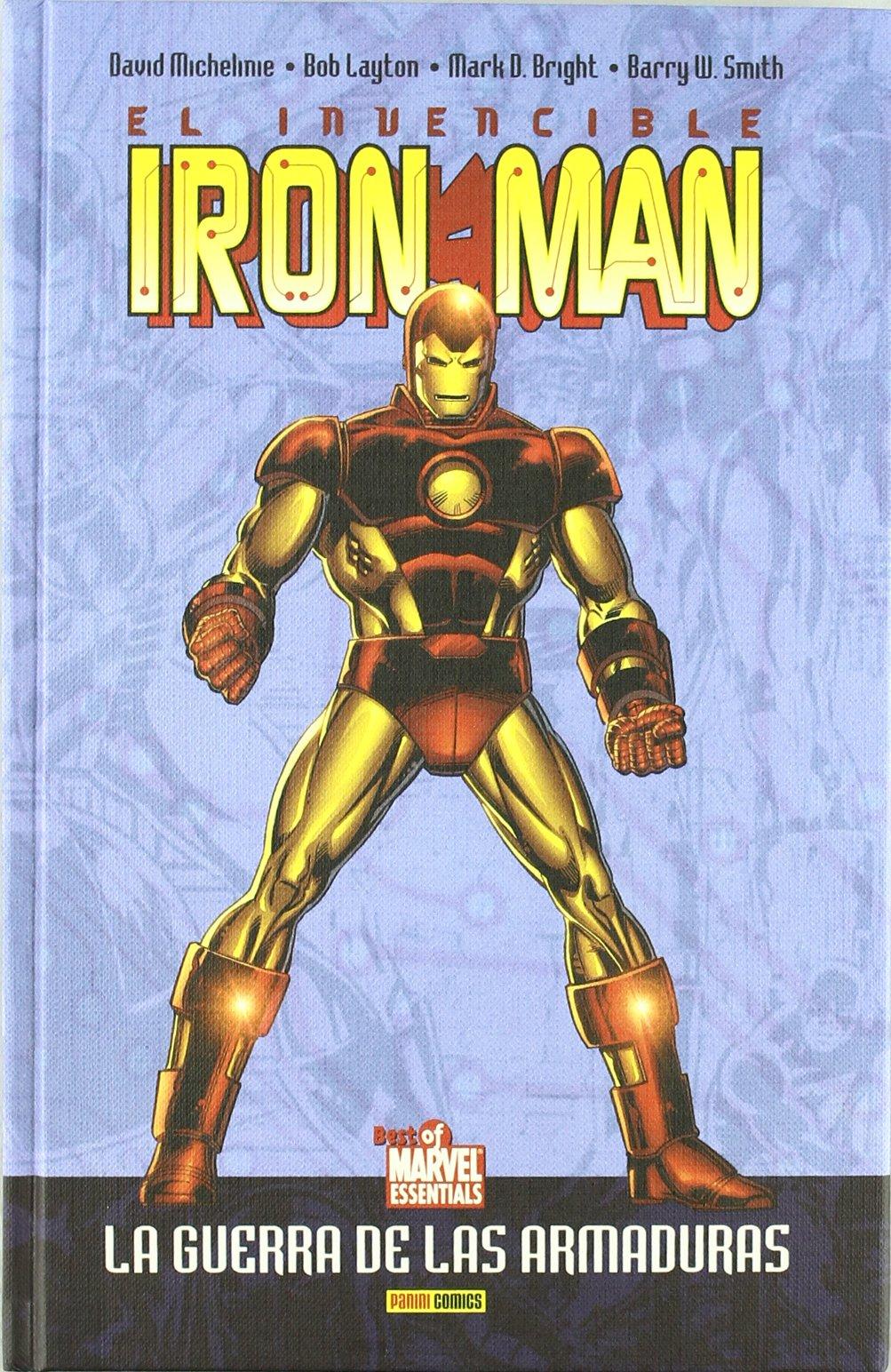 El mejor Marvel de sd 15 (Iron man el hombre de la mascara de hierro, la guerra): Marvel ediciones: 9788496874954: Amazon.com: Books