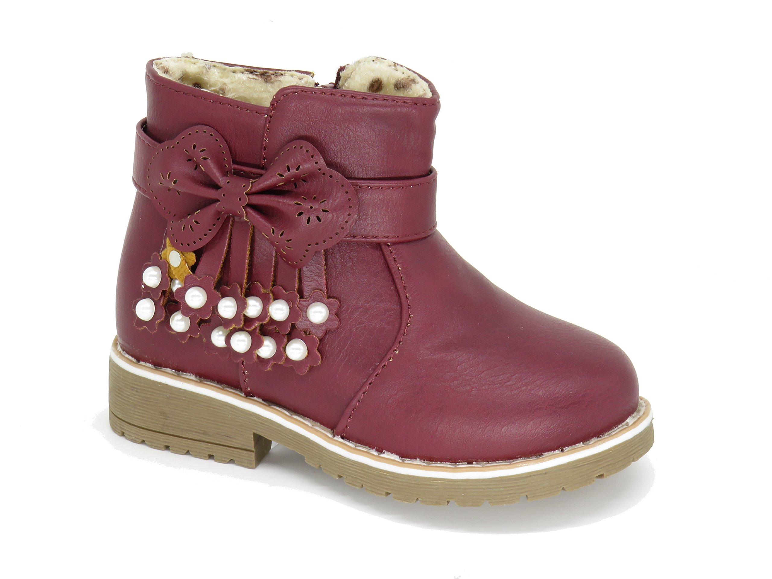 Burgundy Toddler Shoes: Amazon.com