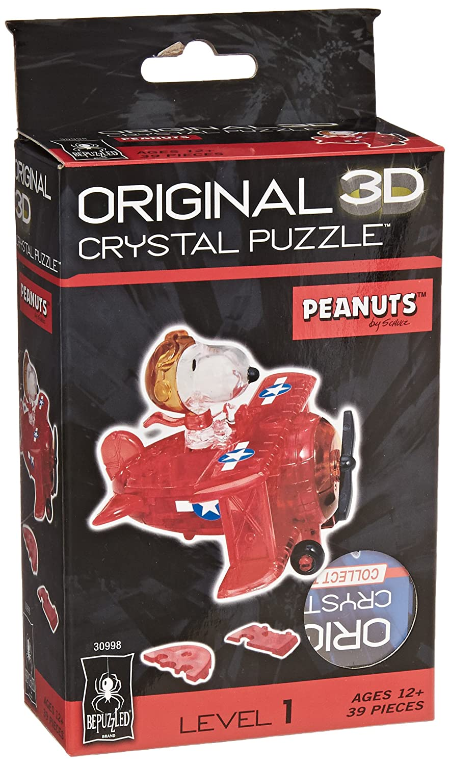 3D Crystal Puzzle Snoopy and Woodstock Game Rejects from Studios 30991