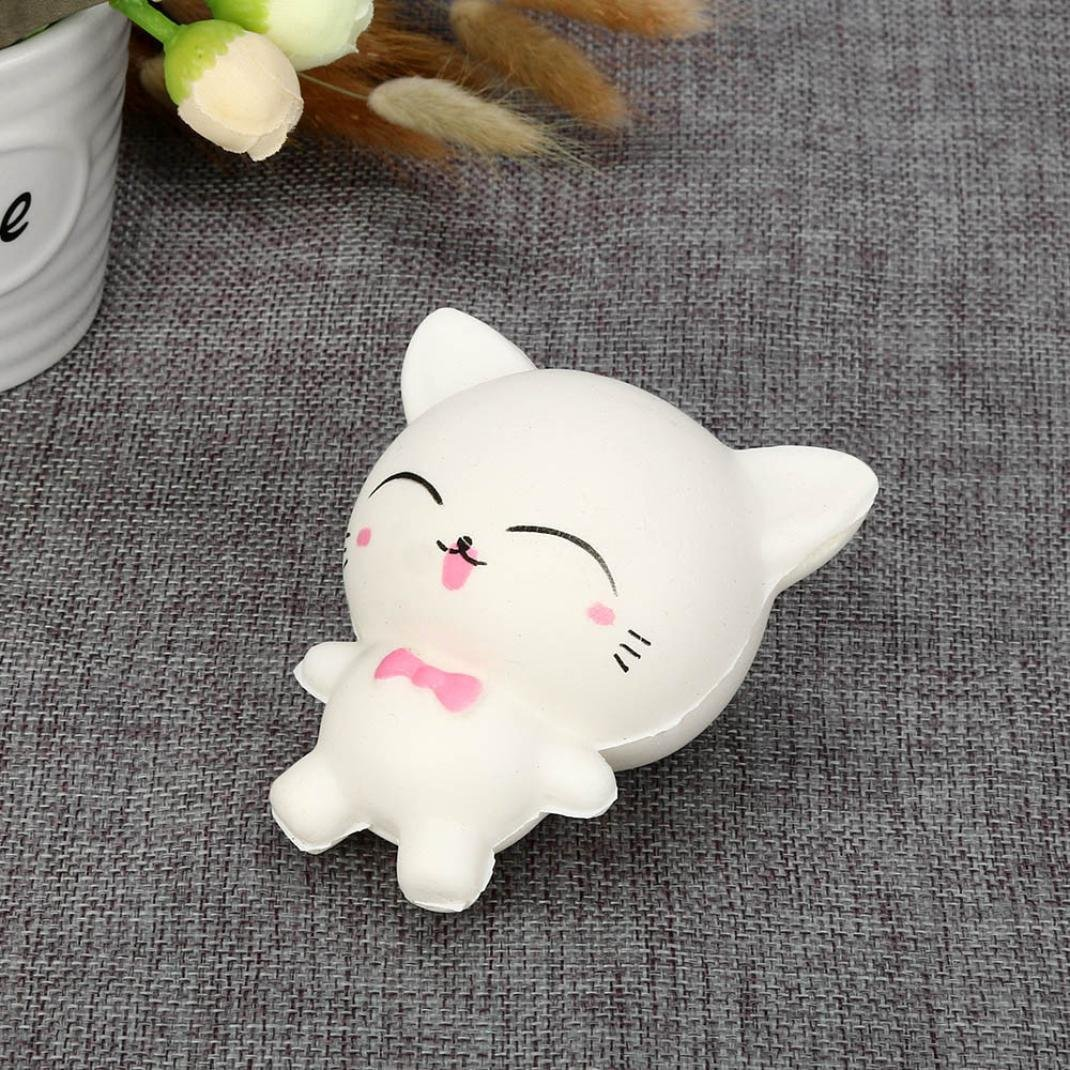 TiTCool_toy Funny Squeeze Squishy Cartoon Cat Slow Rising Scented Relieve Stress Toy Gifts by TiTCool_toy (Image #3)