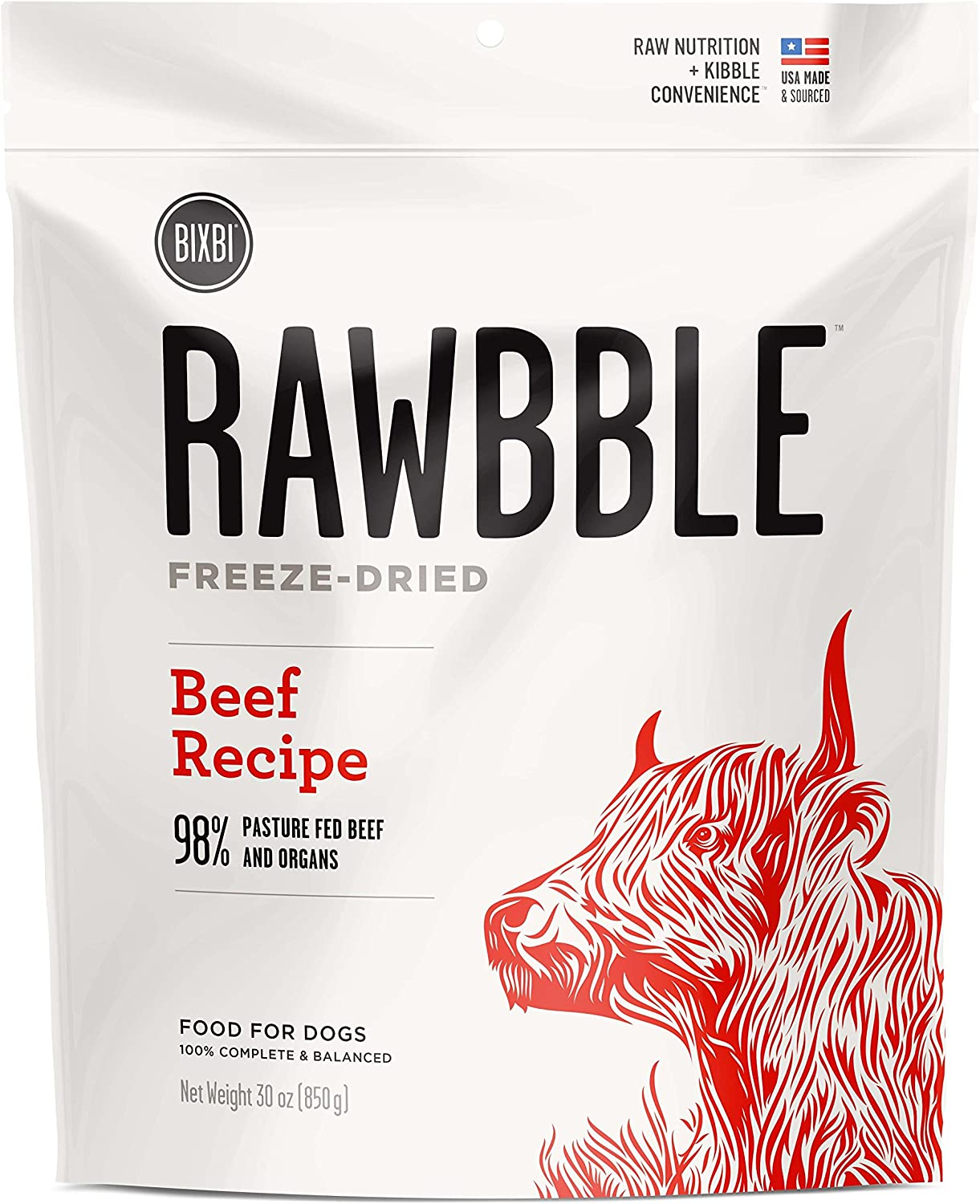 Rawbble Beef, 30-Ounce
