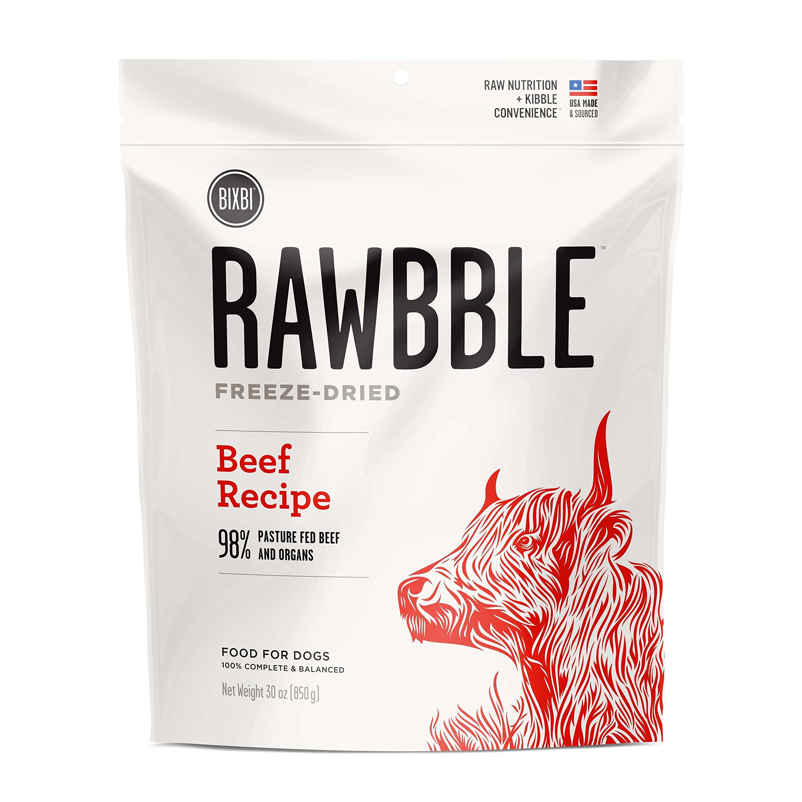Rawbble Beef, 30-Ounce by BIXBI
