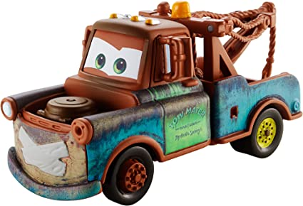 Amazon Com Disney Pixar Cars Super Chase Mater With Duct Tape 1