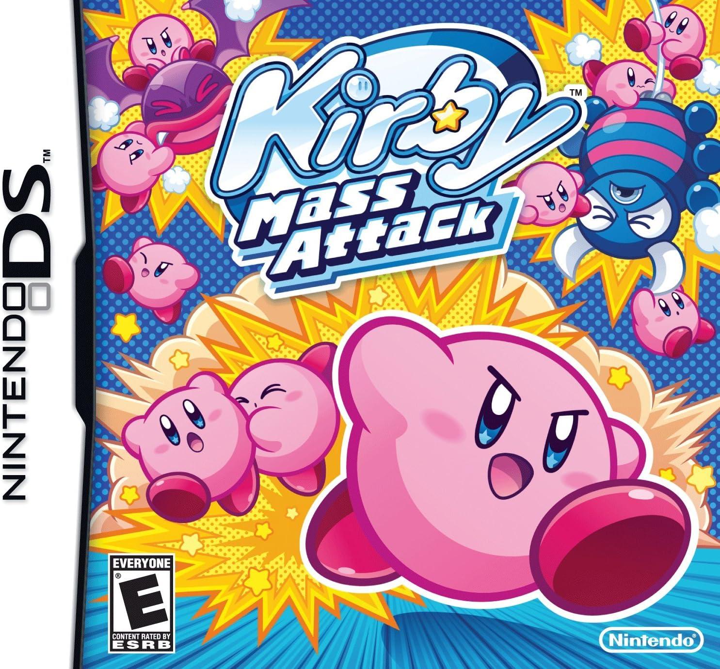 Nintendo Kirby Mass Attack Nintendo DS vídeo - Juego (Nintendo DS ...