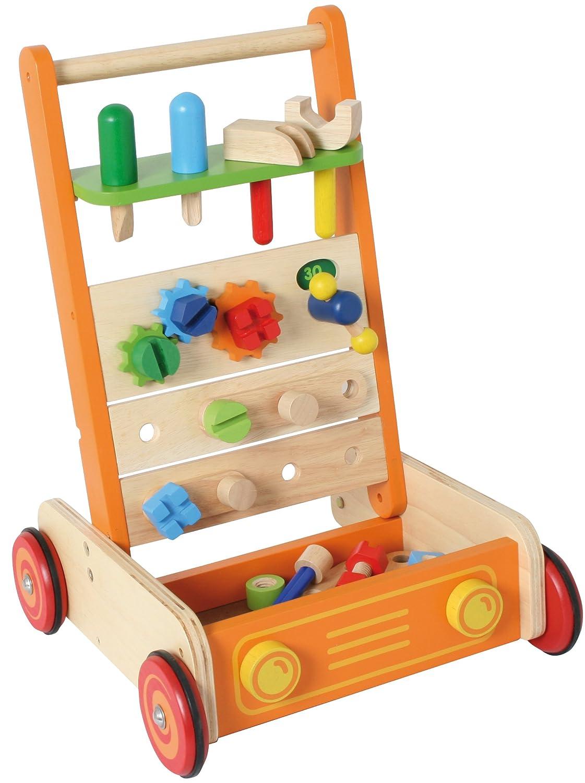 Lauflernwagen Werkbank - I m Toy Schiebewagen Werkbank