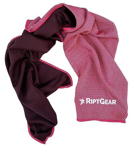 Amazon.com : riptgear instant cooling towel ultra thin lightweight