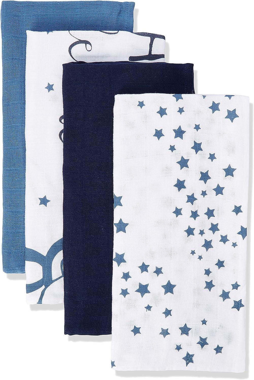 Herstellergr/ö/ße:70x70 Pippi Unisex Baby 6er Pack Windeln mit verschiedenen Motiven Badebekleidungsset , Provincial Blue 796 Mehrfarbig
