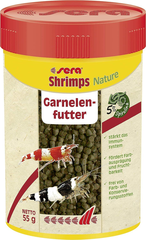Sera Mangime Shrimps Natural gr. 55-Alimenti Pesci, Multicolore, Unica