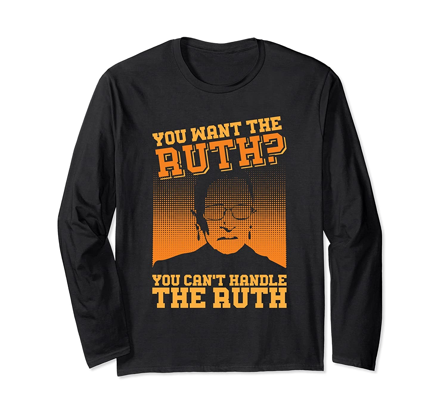 You Can't Handle the Ruth Bader Ginsburg Long Sleeve Shirt-mt