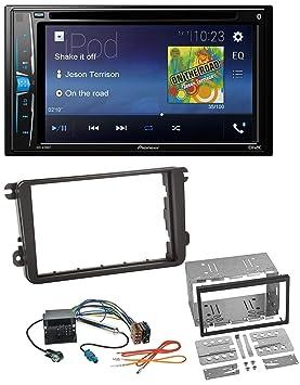 Pioneer a200bt USB DVD 2DIN Bluetooth CD MP3 Radio de coche para Seat Alhambra Leon Toledo: Amazon.es: Electrónica