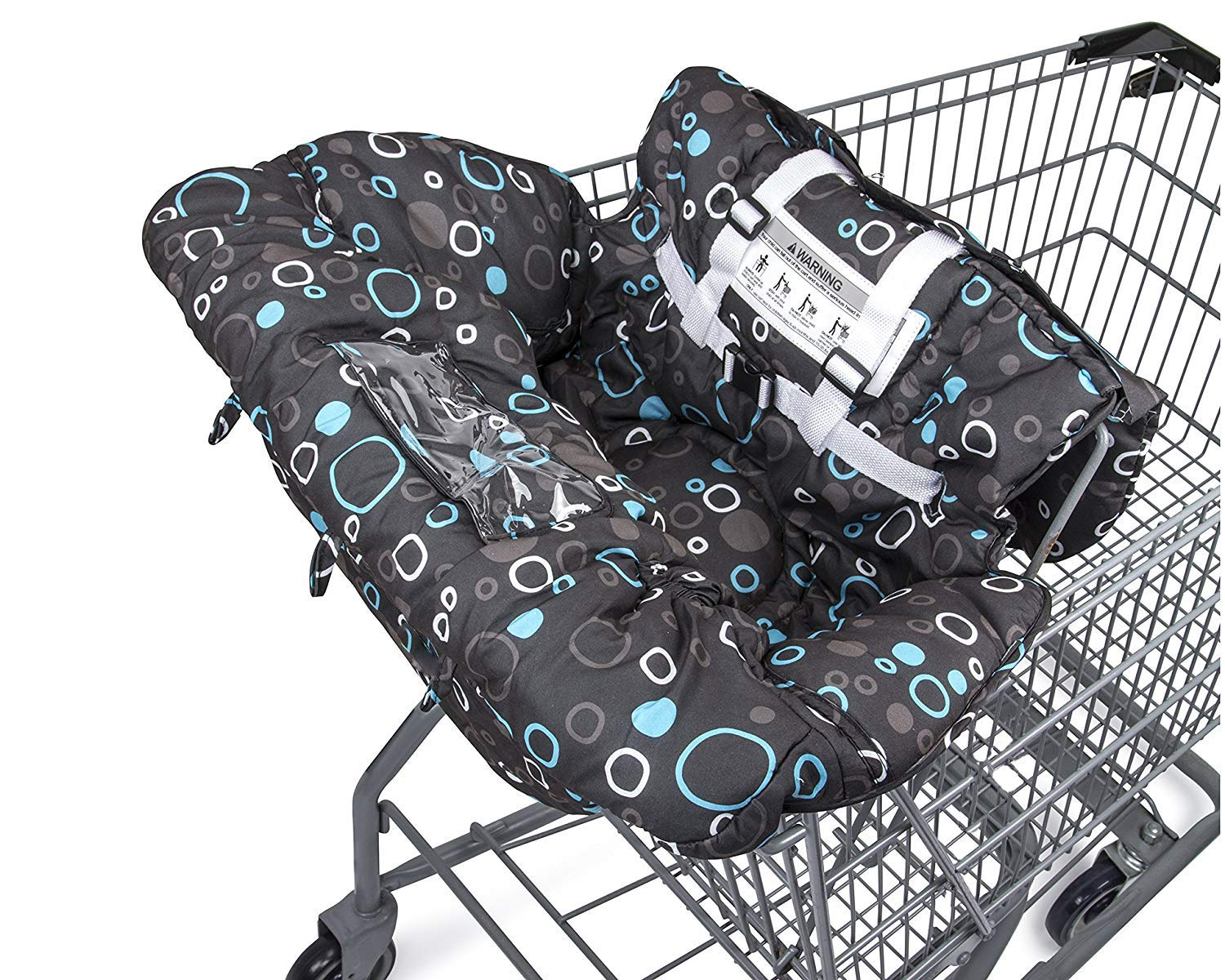 Premium Shopping Cart Cover & High Chair Cover, Easy Install