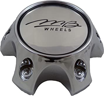 1-NEW MB Motorsports Motoring 2 Piece Hub Cover Chrome Center Cap BC-670 A /& B