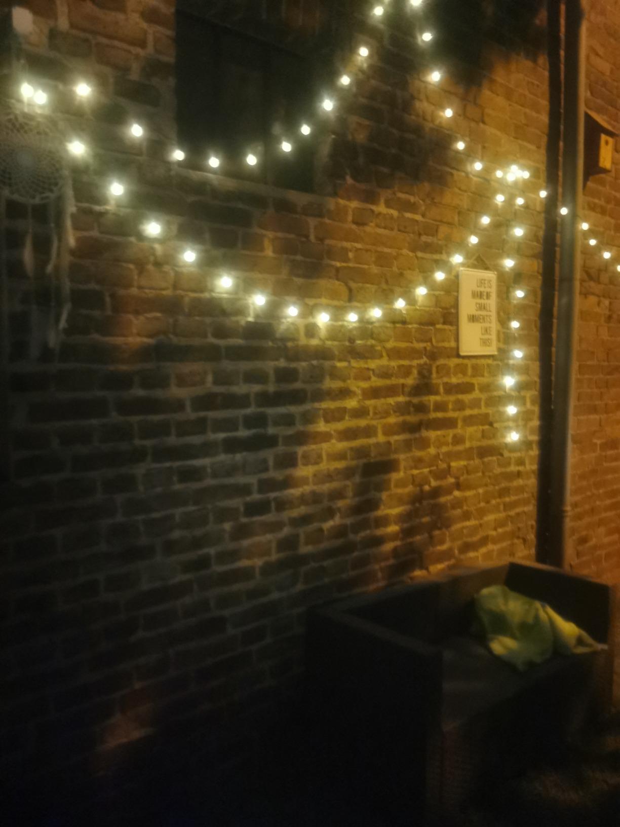 "Solar Lichterkette ""Oxy"" 60 LED photo review"