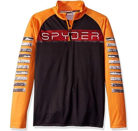 Spyder Peak Camiseta Térmica, Niños, Black, S: Amazon.es: Deportes y aire libre