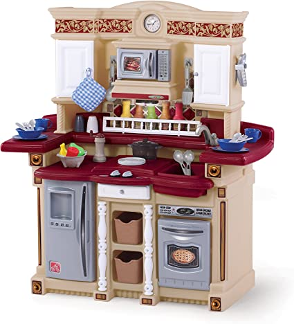 Amazon.com: Step2 LifeStyle PartyTime Play Kitchen | Durable Kids ...