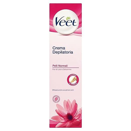 10 opinioni per Veet Crema Depilatoria Pelli Normali Gambe e Corpo, 200 ml