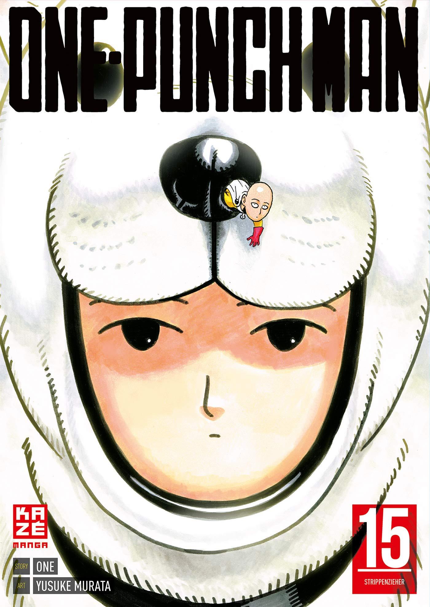 ONE-PUNCH MAN 15 Taschenbuch – 6. Dezember 2018 Yusuke Murata John Schmitt-Weigand KAZÉ Manga 2889218597
