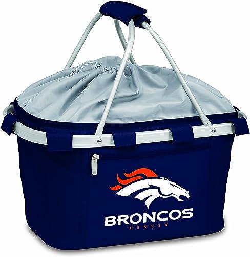 NFL Denver Broncos Metro Insulated Basket, Navy