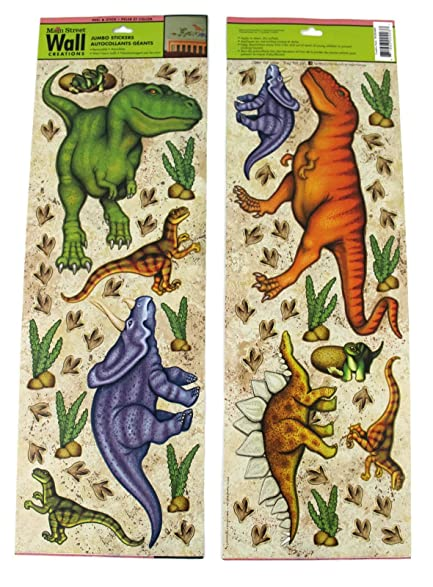 Main Street Wall Creations Jumbo Stickers   Dinosaurs Part 19