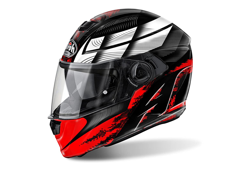 Gr/ö/ße S Red Airoh Motorrad Helme Storm