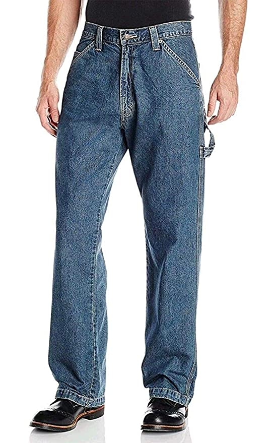 Signature by Levi Strauss & Co. Gold Label Mens Big and Tall Carpenter Fit Jeans