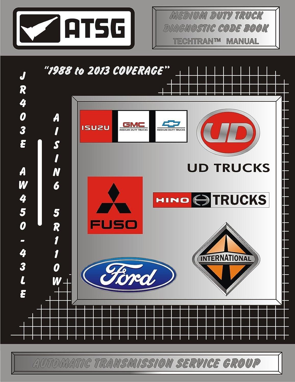 Atsg Npr Fuso Ud Code Book Transmission Repair Manual Trucks Diagram Wiring Medium Duty Truck Reader Transmissions Best