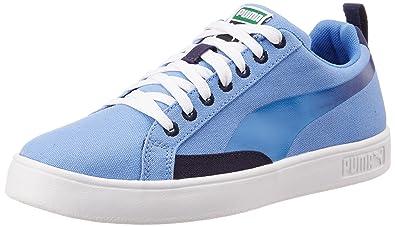 Puma Women s Match Lite Lo Blur Wn s Marina Blue and Peacoat Sneakers - 3 UK b5a9b6604
