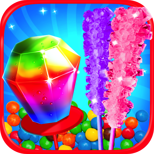 - Ring Pops & Rock Candy Maker - Kids Rainbow Cooking Games FREE
