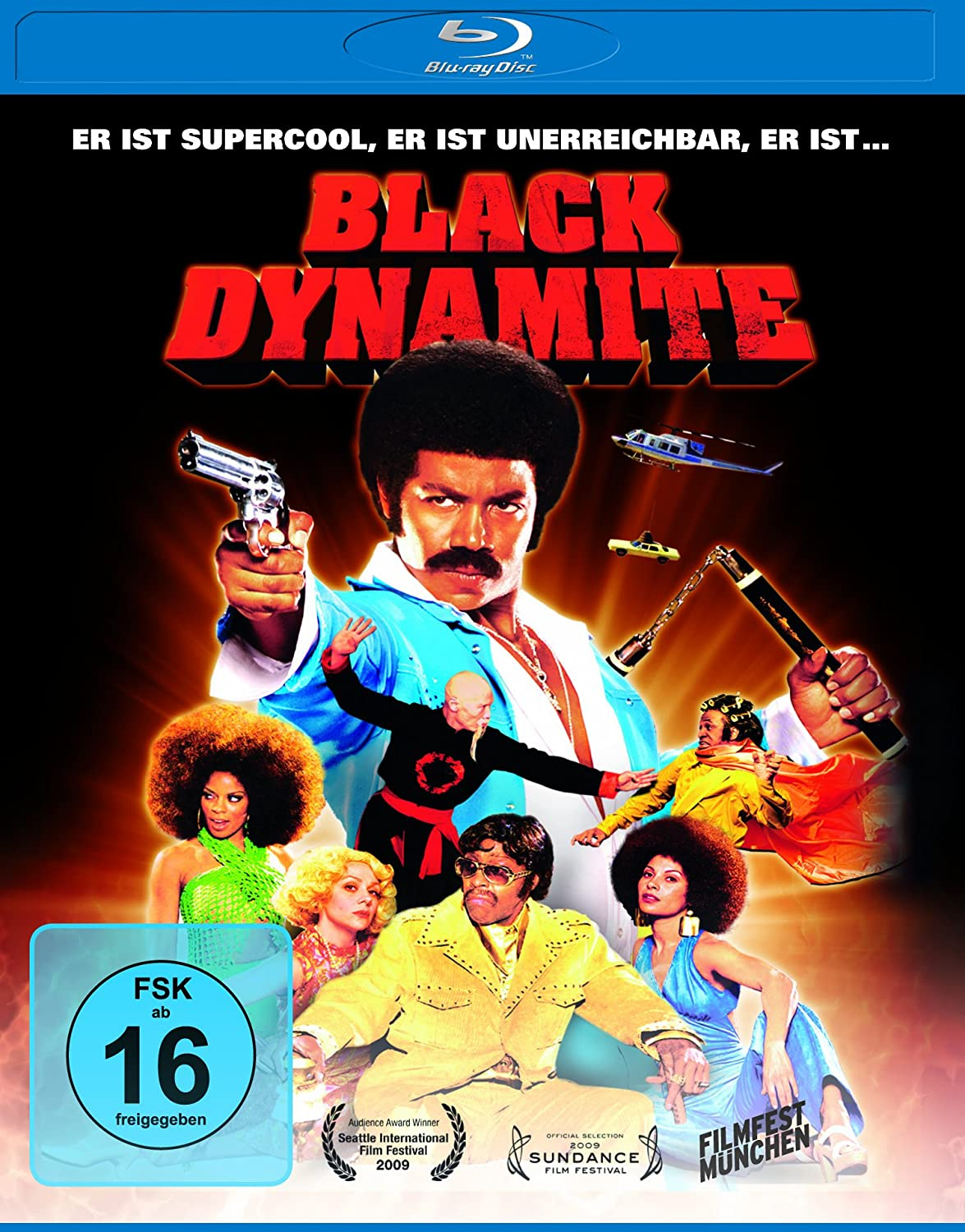 Black Dynamite [Alemania] [Blu-ray]