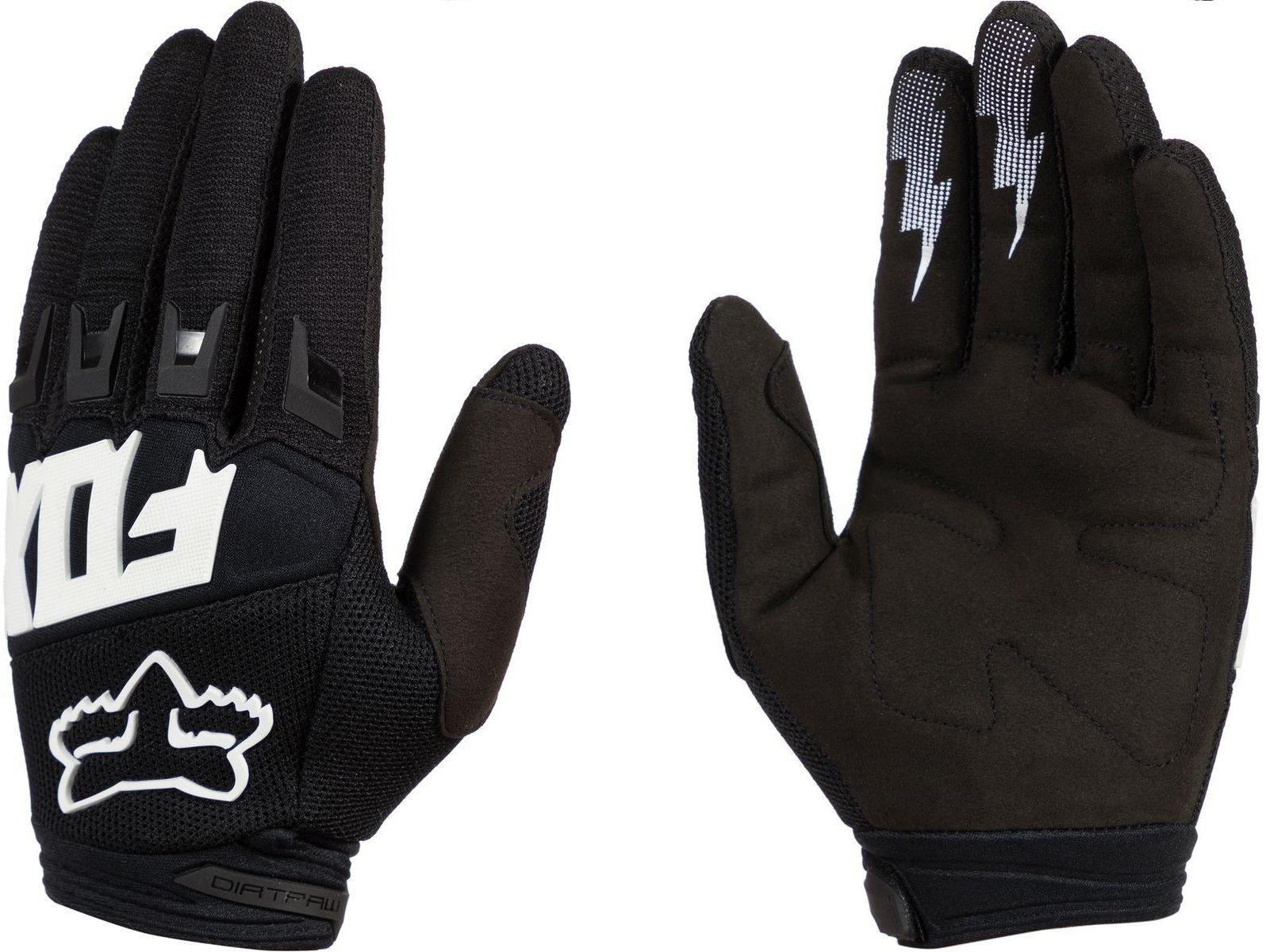2019 Fox Racing Dirtpaw Race Gloves-Black-L by Fox Racing