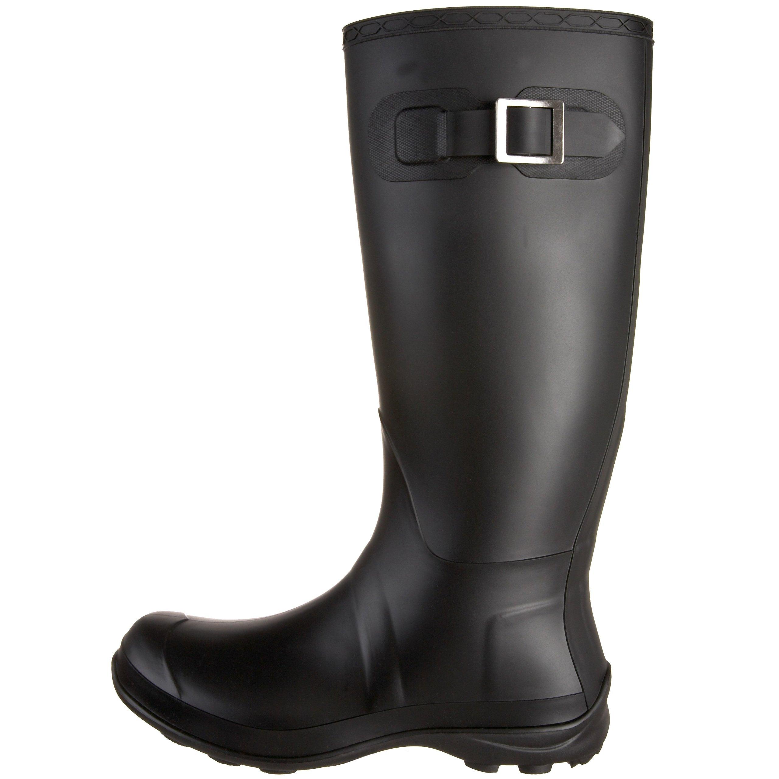 Kamik Women's Olivia Rain Boot,Black,9 M US by Kamik (Image #5)