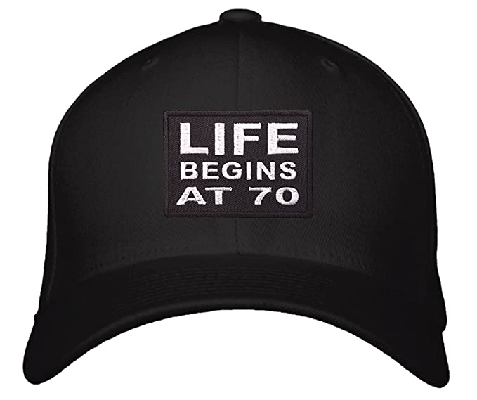 Life Begins At 70 Hat