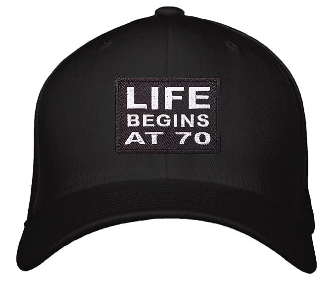 Life Begins At 70 Hat