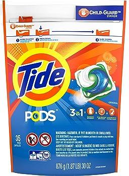 35-Count Tide PODS Laundry Detergent Pacs