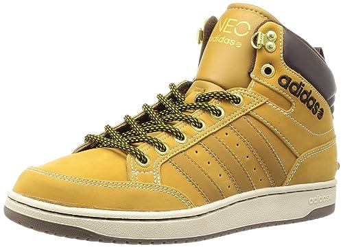 Schuhe Q38653 Adidas NEO Mid Leder Hoops Yf6vby7gIm