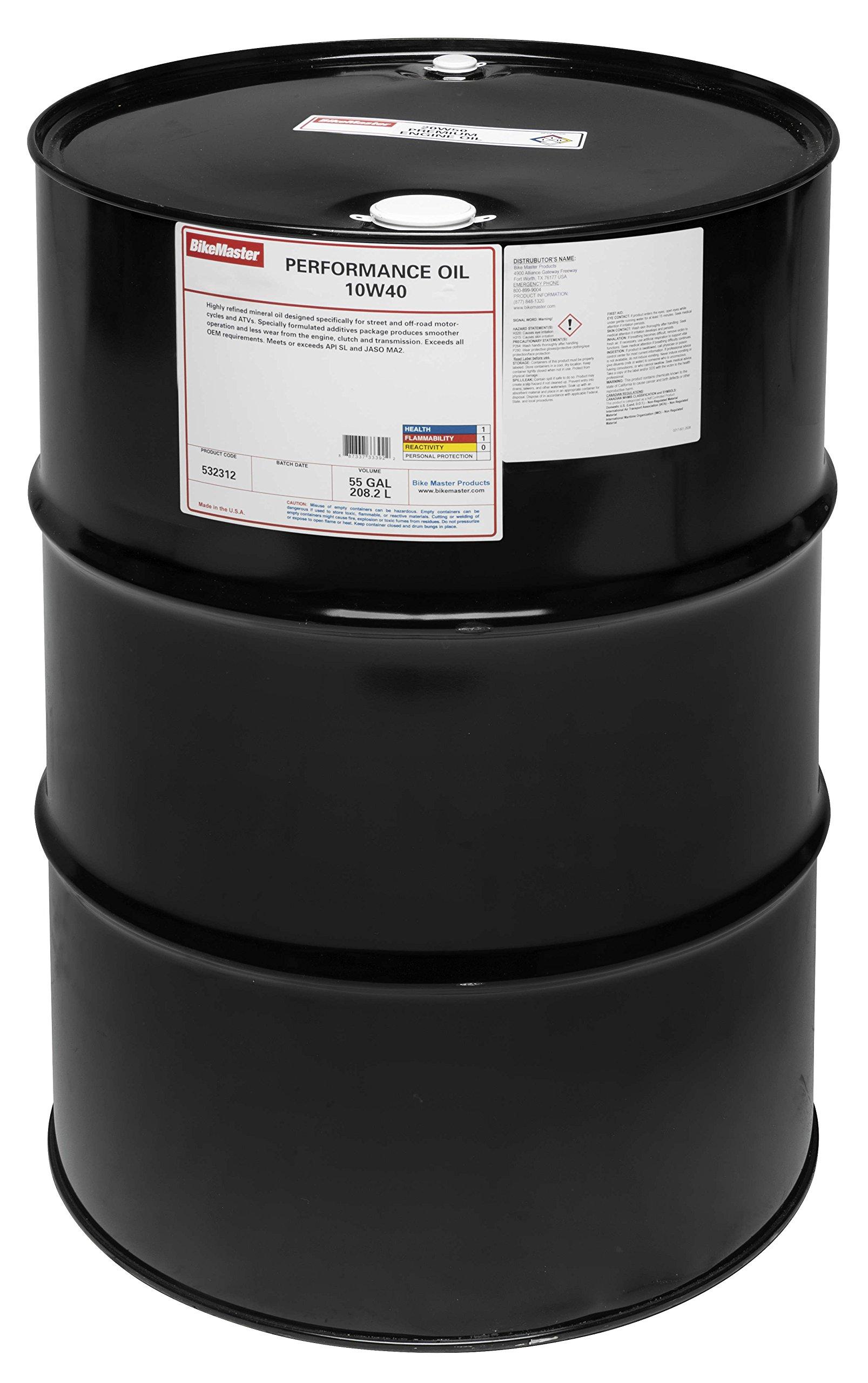 Bm Perf M/C Oil 10W40 55G