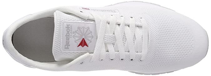 343623a237f57 Reebok Men s Cl Leather Og Ultk Gymnastics Shoes White (White Steel  White Steel) 11 UK  Buy Online at Low Prices in India - Amazon.in