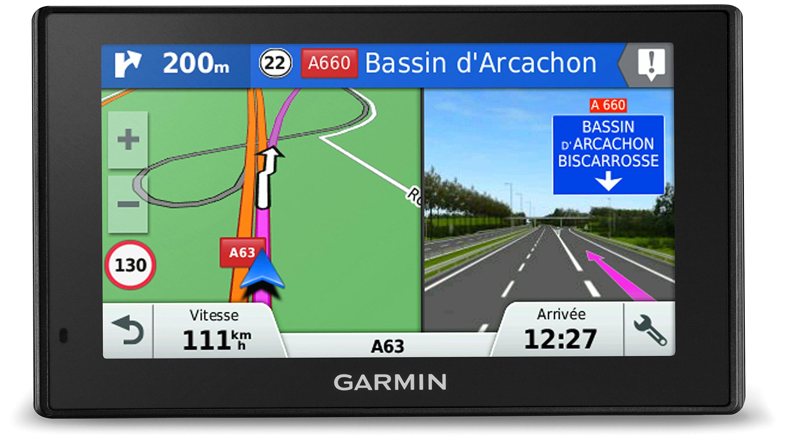 Garmin DriveAssist 50 LMT - GPS Auto - 5 pouces - Cartes Europe 46 pays - Cartes, Trafic, Zones de danger à vie - caméra intégrée - Appels Mains Libres product image