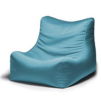 Jaxx Ponce Outdoor Bean Bag Lounge Chair, Lagoon