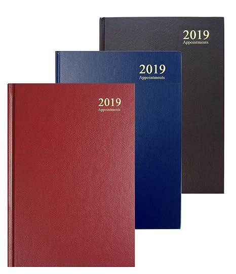 Collins ESSA41A Asst19 - Agenda 2019, A4, día esencial a página