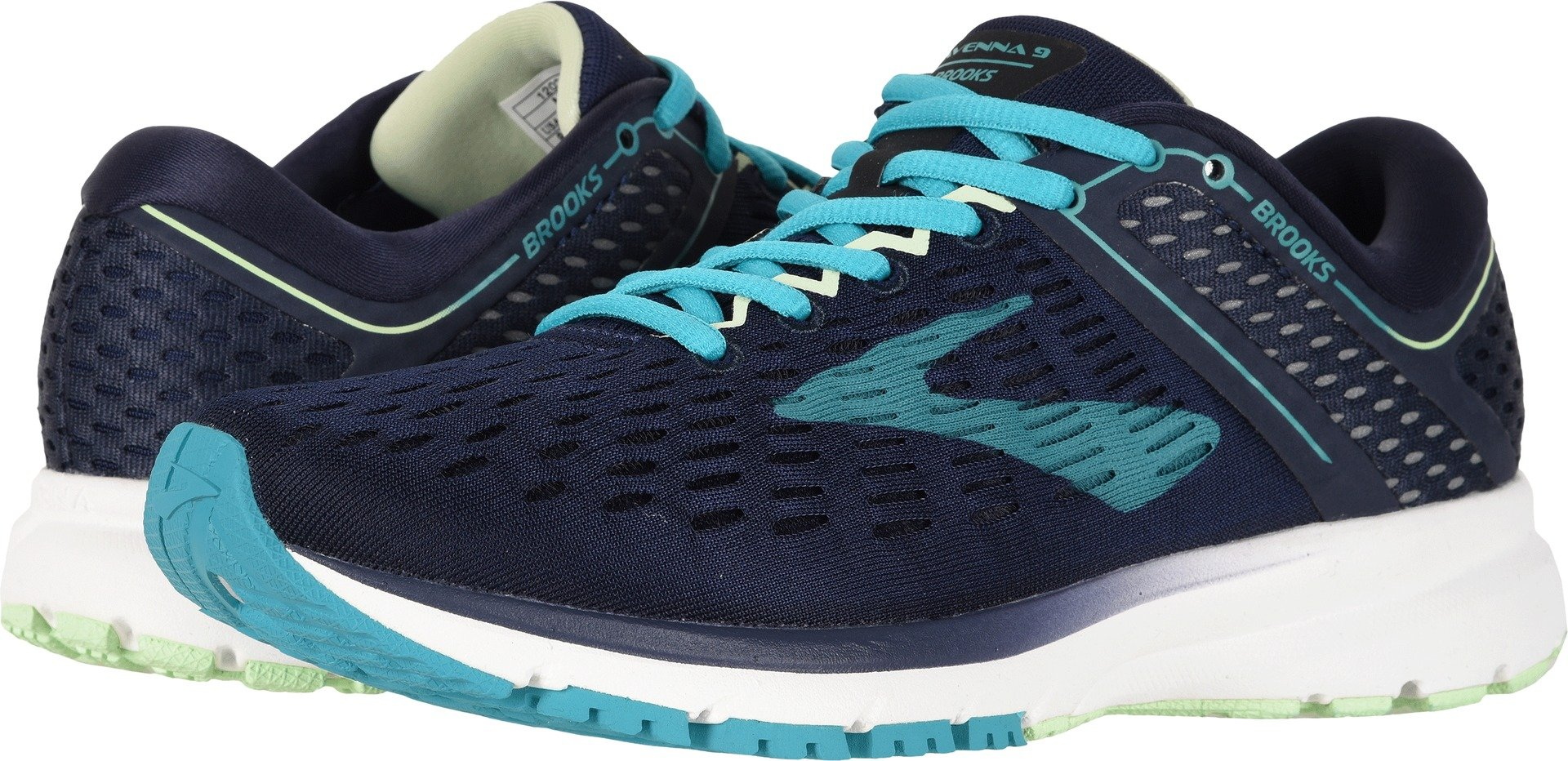 Brooks Women's Ravenna 9 Navy/Blue/Green 10 B US