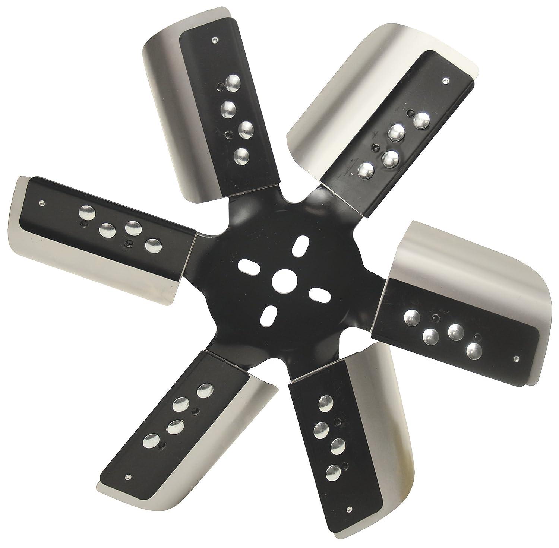 Derale 17015 Heavy Duty Fan Blade Series 1000 15' Stainless Steel Flex Fan Standard Rotation