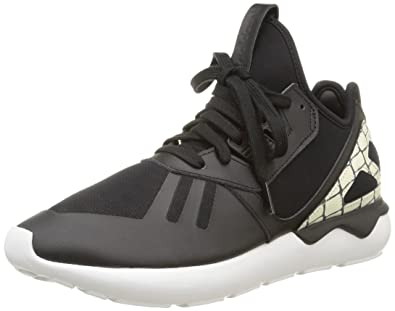 1c65fa124c9a adidas Women s Tubular Runner Low-Top Sneakers Black Size  3.5 UK